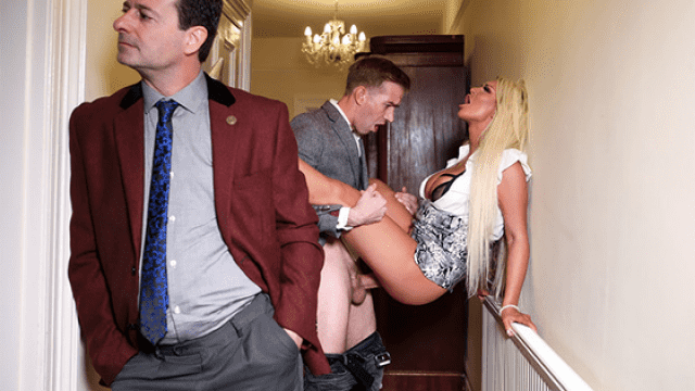 [Brazzers 26-11-2019] Behind Her Husband's Back
