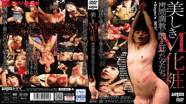 Dogma DDT-607 Beautiful M Cosmetic Torture · Women Crazy For Training