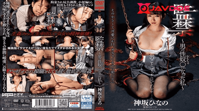 FHD Dogma DDHH-009 Hinano Kamisaka Imprisonment I Got to be A Male Sex Young lady