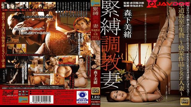 Global Media Annex  GMA-003 Mio Morishita BDSM Torment Spouse Hanafudo Classroom Give up Joy Work Hitched Lady