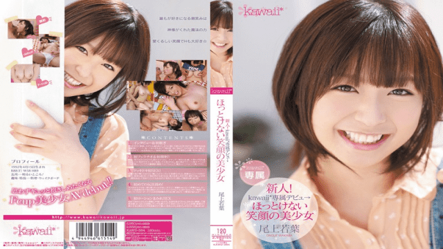 kawaii kawd-384 New Face! kawaii Exclusive Debut - A Beautiful Smile You Can't Leave Alone Wakaba Onoue