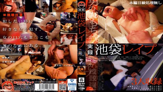 MAD kri-027 True Stories: Rape In Ikebukuro