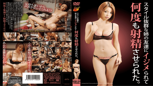 Freedom NFDM-263 Risa Kasumi I Torment My Older Sister's Friend With A Distinct Style Made To Cum Multiple Times