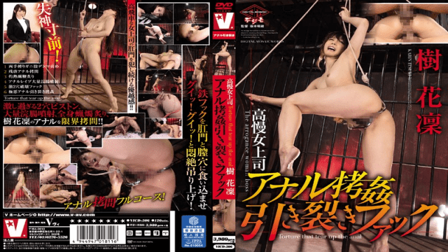 V Studio vicd-306 Haughty Female Boss Gets Her Anal Hole Ravaged Right Open Karin Itsuki