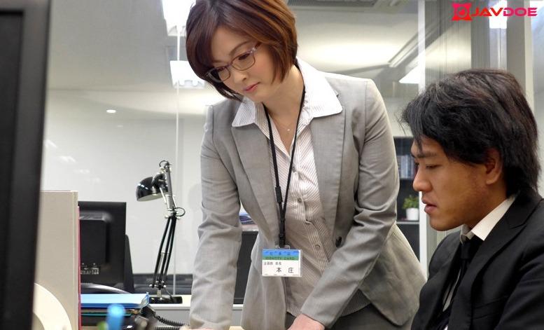 Uncensored MADONNA JUX-888 Married Woman Busty Female Boss Yuka Honjo